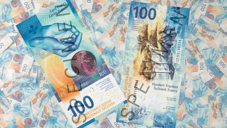 Das ist die neue 100er-Note der Schweiz.