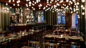 So sieht es im Punkte-Restaurant Roter Bären aus.