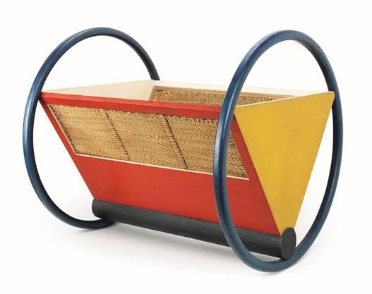 Das Bauhaus wollte so neue wie einfache Kunst für einen besseren Alltag: Peter Keler entwarf diese Wiege 1922.