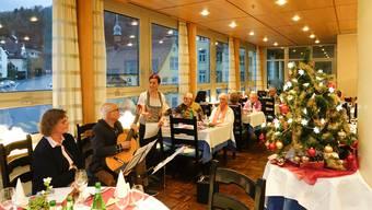 Weihnachtsfeier der Pro Senectute in Baden