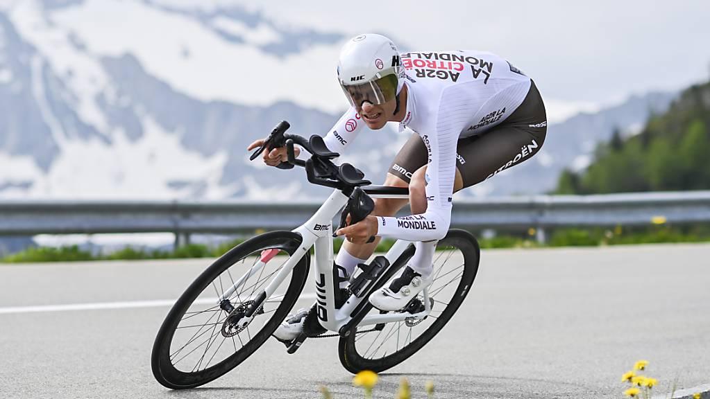 Michael Schär wurde auch für die Tour de France nominiert