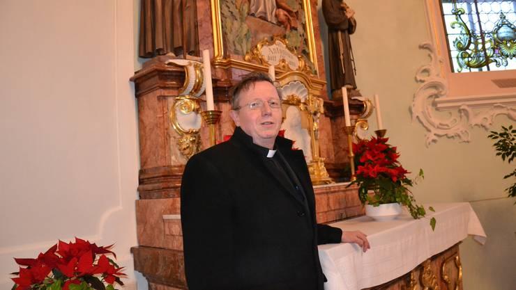 Pfarrer Jürg Schmid