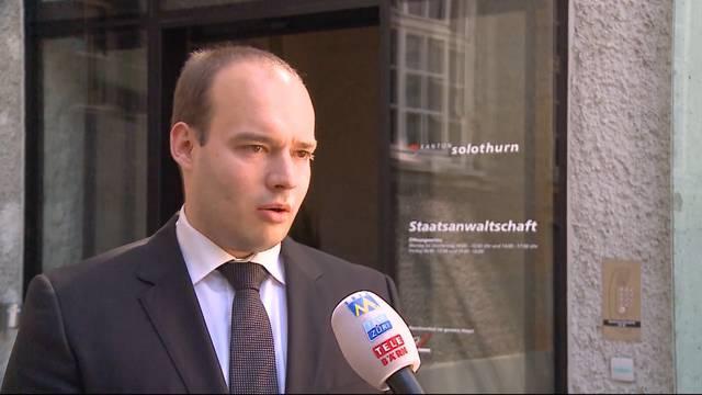 Die Solothurner Staatsanwaltschaft ermittelt gegen unbekannt – «Die Entführung ist nur ein mögliches Szenario», sagt Sprecher Jan Lindenpütz.