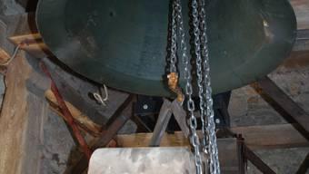 Die Glocken in Kirchenturm Kirchleerau sind 150-jährig. (nr)