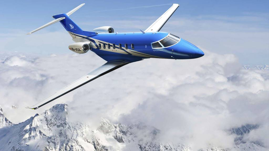 Pilatus Flugzeugwerke präsentieren Business-Jet