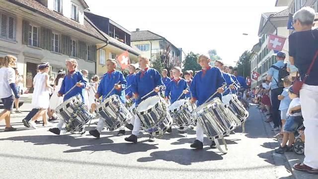 Jugendfest Lenzburg 2018 - der Umzug.