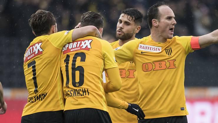 Die Berner Young Boys werden in diesem Jahr wohl den Schweizer Meistertitel entgegen nehmen dürfen