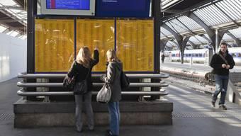 Der neue Fahrplan der SBB wird in der Schweiz weiter verdichtet (Archiv)