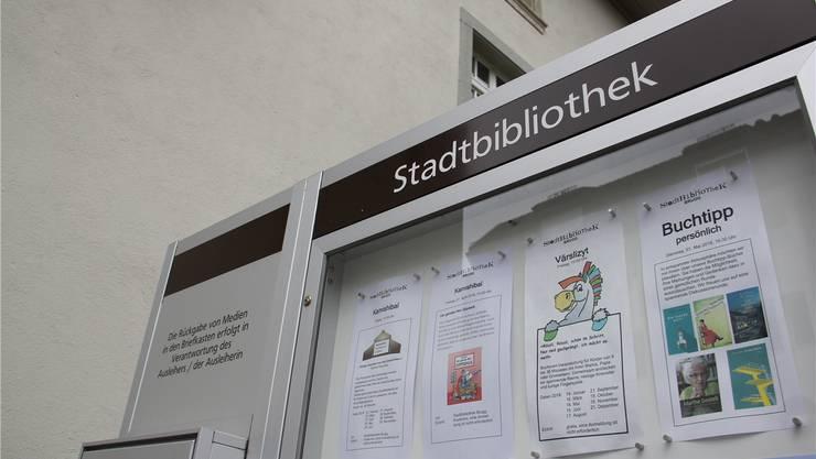 Noch ist die Stadtbibliothek auf engem Raum im Zimmermannhaus untergebracht.