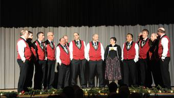 Der Jodlerklub Hasenmatt Selzach war nicht nur Gastgeber, sondern stand auch selber auf der Bühne am Lichterfest.
