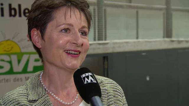 Regierungsratskandidatin Franziska Roth im Fokus