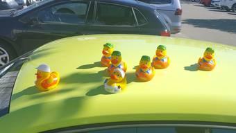 Alle meine Enten schwimmen auf dem ….