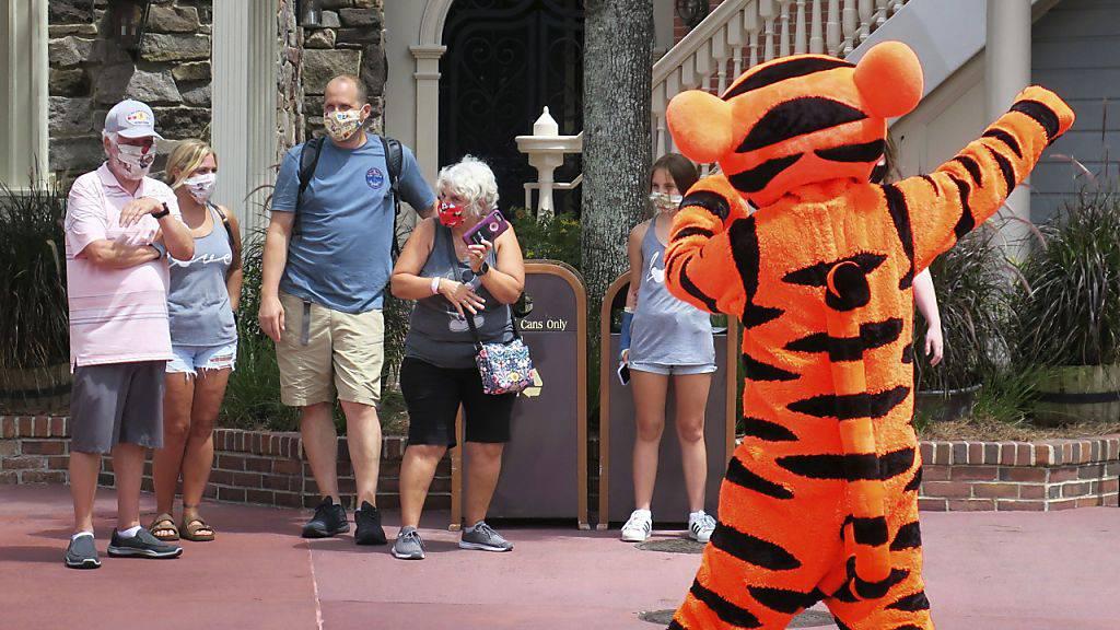 «Disney World»-Park trotz Corona-Krise wieder geöffnet