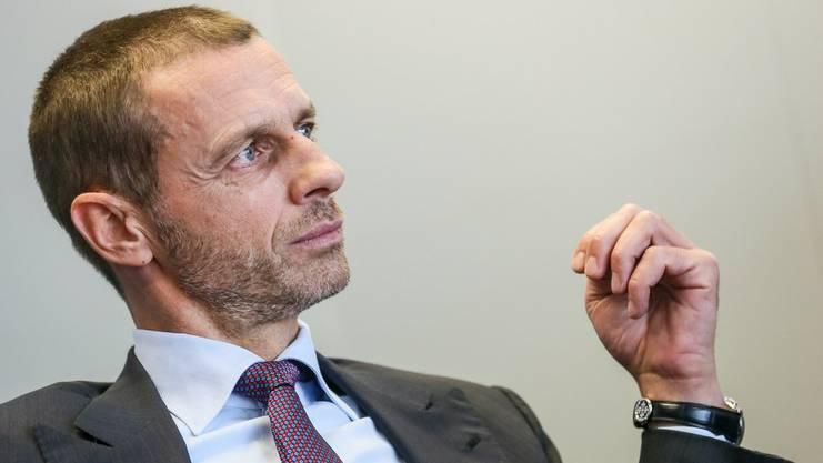 Uefa-Präsident Ceferin fühlt ich von Infantino hintergangen.