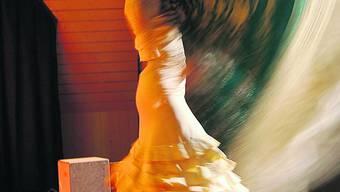 Bettina Castano bei ihrer feurigen Tanzeinlage.
