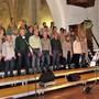 Die Vindonissa Singers mit ihrer neuen Dirigentin Sabrina Sgier überzeugen.