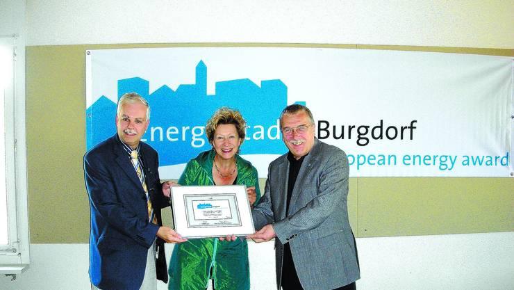 Burgdorf hat zwar das Label der Energiestadt erhalten - es muss jedoch einiges verbessert werden.