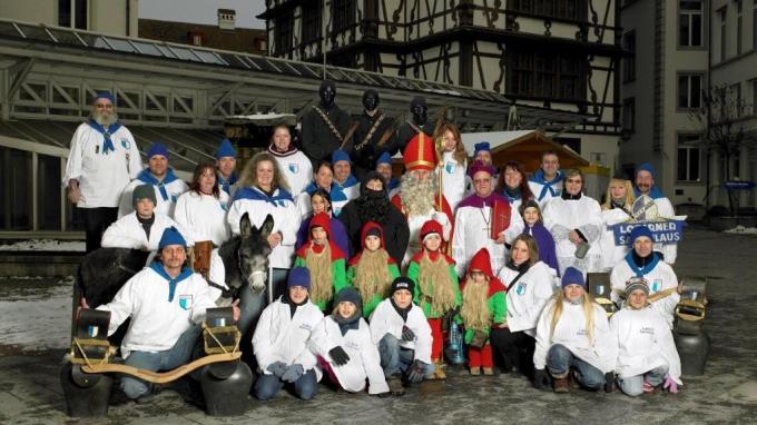 Sonntag: Der Samichlaus in der Luzerner Altstadt