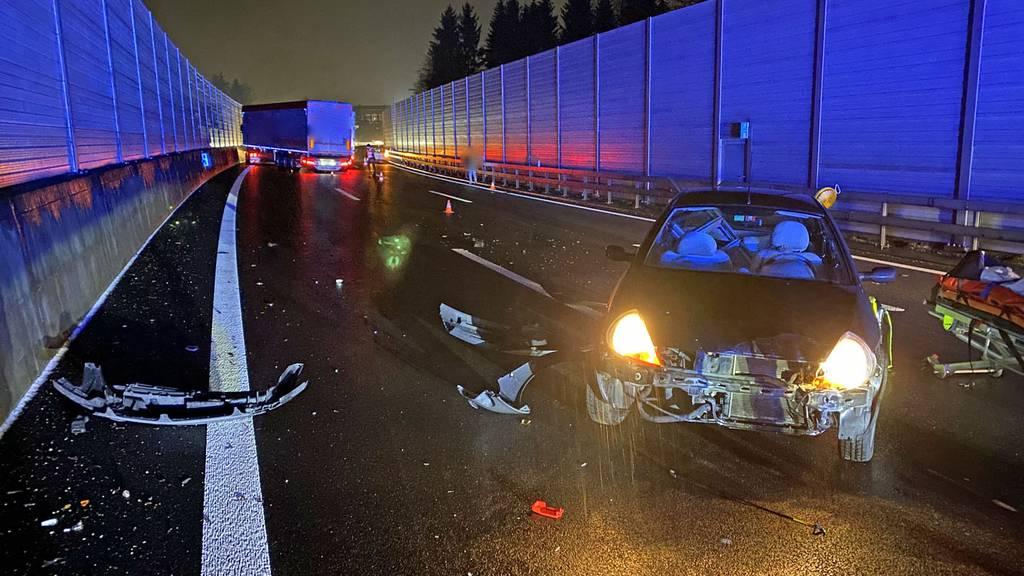 Winterliche Verhältnisse führten zu 20 Verkehrsunfällen mit zehn Verletzen