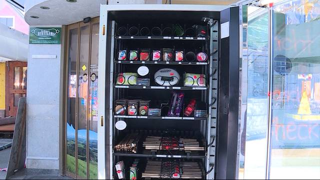 Fasnacht jederzeit dank Fasnachtsautomat