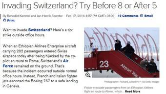 Das amerikanische Newsportal Bloomberg.com weiss nun, wann man die Schweiz am besten angreift.
