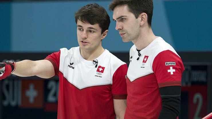 Benoît Schwarz (links) und Peter De Cruz haben die Lage im Griff