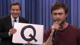 Jimmy Fallon (l) und Daniel Radcliffe (Screenshot)