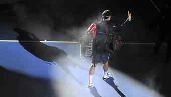 Pflicht erfüllt: Roger Federer