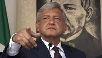 Andrés Manuel López Obrador wirf dem Präsident Stimmenkauf vor