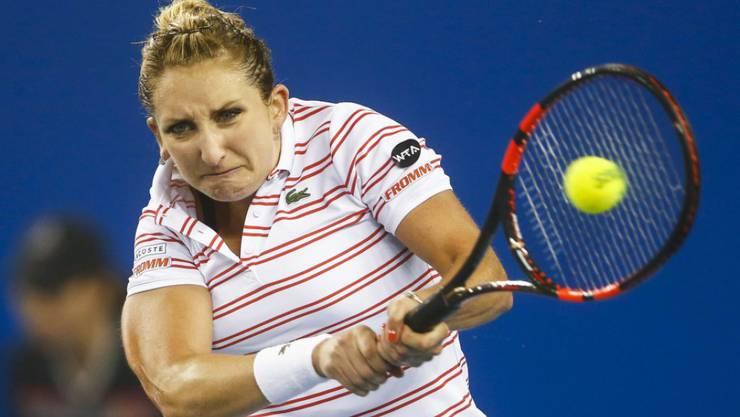Timea Bacsinszky überwand im Viertelfinal gegen die Italienerin Sara Errani einen 0:6, 0:2-Rückstand.