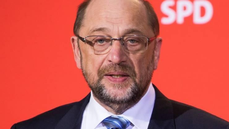 Das war's: Martin Schulz ist nicht mehr SPD-Parteivorsitzender.