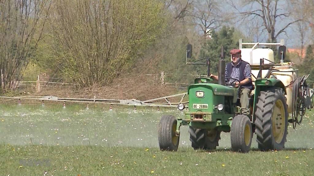 Bern will schädliches Pflanzenschutzmittel verbieten