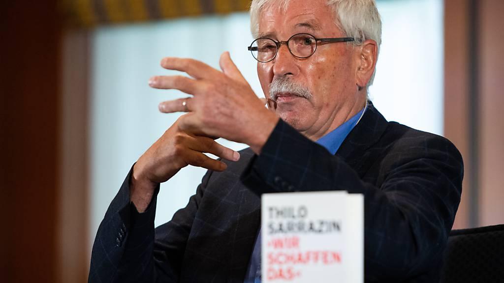 Sarrazin verzichtet doch auf Berufung gegen SPD-Rauswurf
