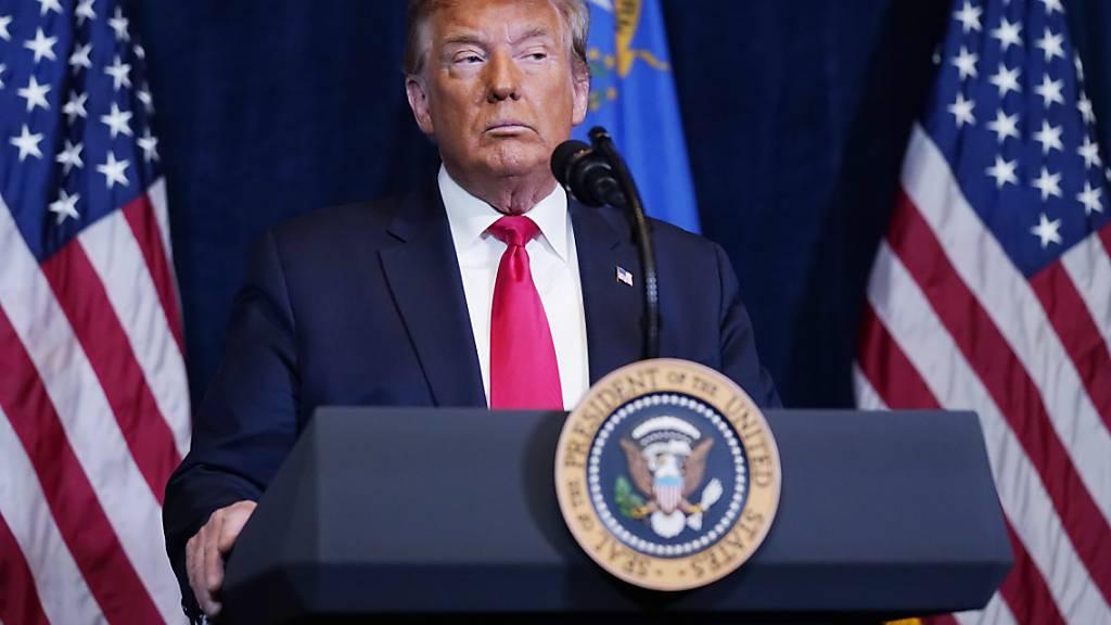 Trump um Schadensbegrenzung bemüht - Demokraten fordern Amtsenthebung