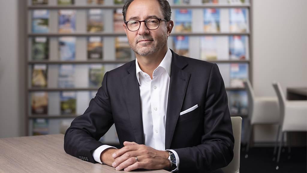 Thomas Stirnimann tritt nach acht Jahren als Chef des Reiseveranstalters Hotelplan ab und wechselt in den Verwaltungsrat. Anfang 2021 übernimmt Laura Meyer den Chefposten.(Archivbild)