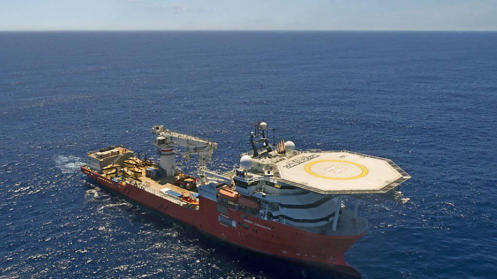 """Die """"Seabed Constructor"""" des US-Unternehmens Ocean Infinity suchte bis zuletzt nach der verschollenen MH370. Nun wurde die Suche aufgegeben. (Archivbild)"""