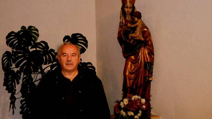 """Pfarrer Richard Strassmann seit 10 Jahren geistlicher Leiter der Pater Pio Gebetsgruppe """"Don Bosco"""""""