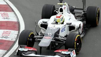 Platz 3 in Montreal für Sergio Perez