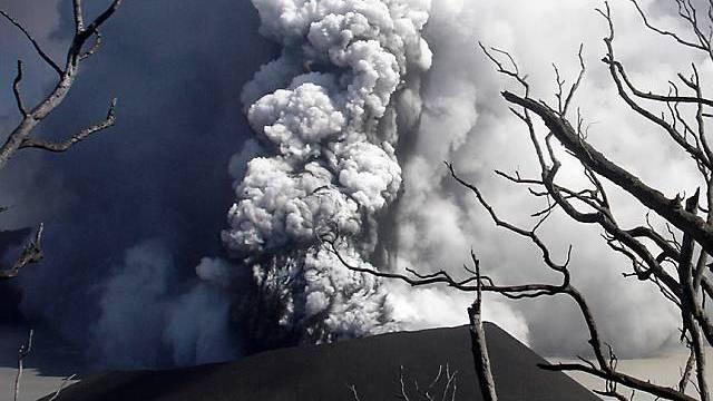 Vulkan Vanuatu auf der gleichnamigen Insel (Archivbild)