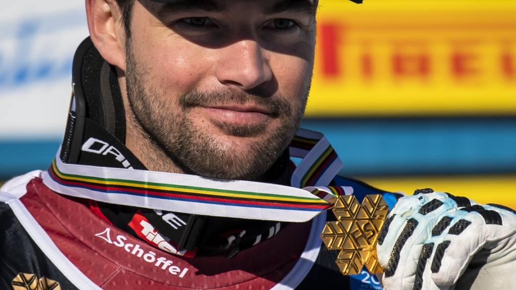 An der WM in Cortina der Triumphator in den Speed-Disziplinen: Österreichs neuer Sportler des Jahres Vincent Kriechmayr