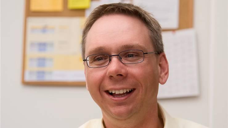 Der Selzacher Markus Dietschi, 37, ist Landwirt und Temporärpersonal-Vermittler – und seit gestern BDP-Kantonalpräsident. Hansjörg Sahli