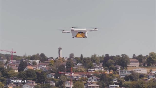 Laborproben per Drohnenflug verschicken