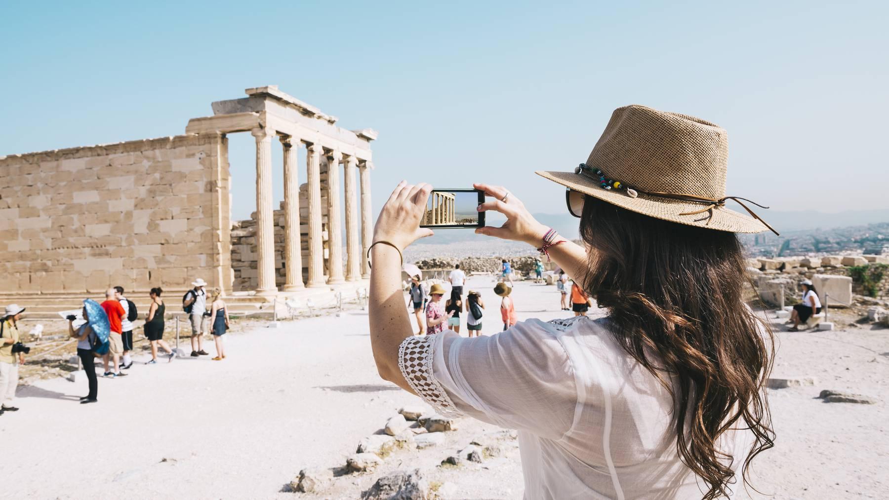 Mit einer vollständigen Corona-Impfung kannst du unter anderem nach Griechenland reisen. (Symbolbild)