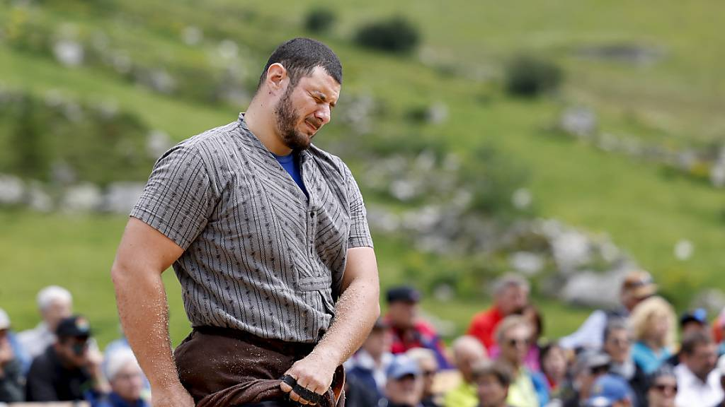 Samir Leuppi hatte am Bündner-Glarner Fest alles im Griff