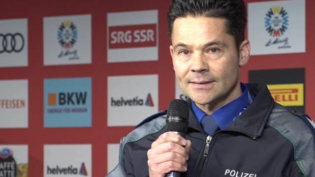 Zwischenfall  an Ski-WM-Flugshow: Kantonspolizei Graubünden informiert.