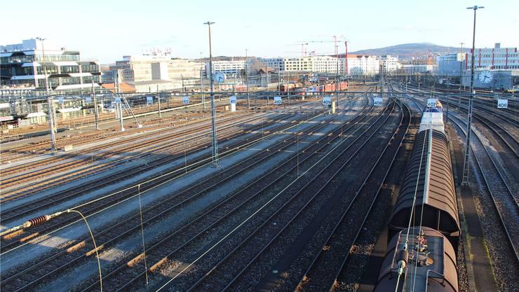 Bei den neu aufgenommenen Projekten sticht insbesondere die Weiterentwicklung des Rangierbahnhofs Limmattal hervor. (Archiv)