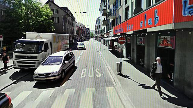 Google Street View wirft hohe Wellen in der Schweiz (Archiv)