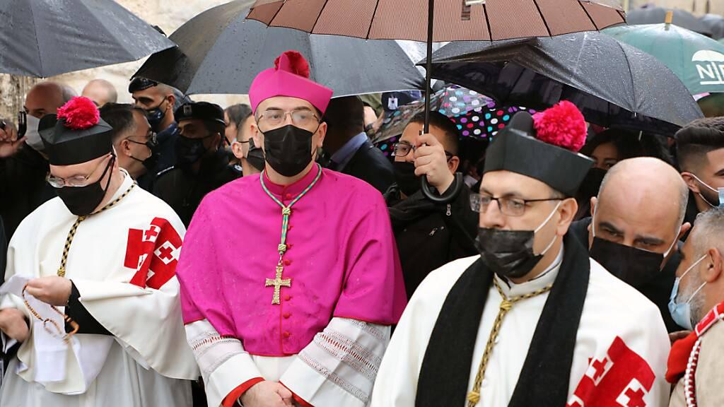 Weihnachtsgebet für Ende der Corona-Pandemie im Heiligen Land