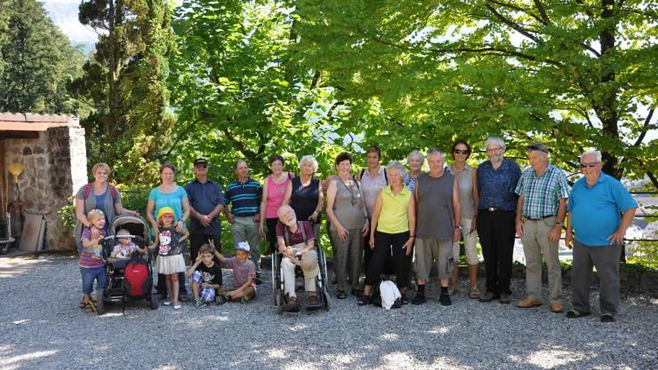 Vereinsreise Obst- und Gartenbauverein Kriegstetten