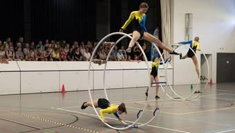 Die Rhönrad Schweizermeisterschaften finden dieses Jahr in Möriken-Wildegg statt.